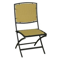 Καρέκλα πτυσσόμενη αλουμινίου με Rattan