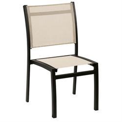 Καρέκλα στοιβαζόμενη αλουμινίου