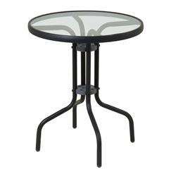 Τραπέζι στρογγυλό αλουμινίου Ø60 εκ