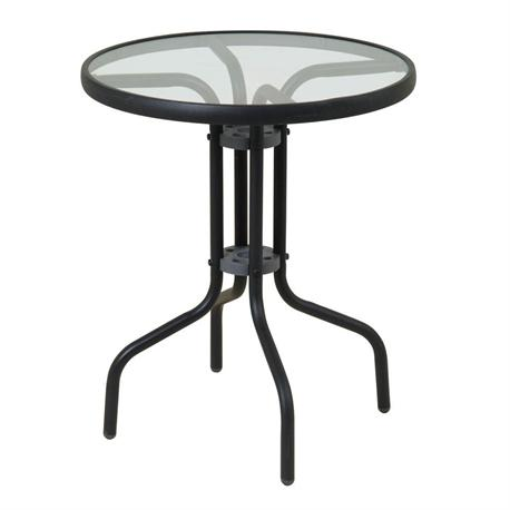 Round aluminium table Ø60 cm