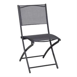 Folding aluminium chair