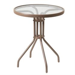 Τραπέζι στρογγυλό αλουμινίου Ø70 εκ
